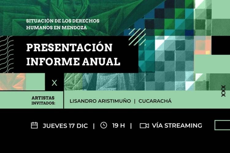 Xumek dará a conocer su informe anual sobre los Derechos Humanos en Mendoza