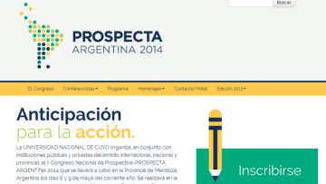 imagen que ilustra noticia Nuevo sitio web: PROSPECTA ARGENTINA 2014