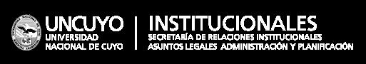 marca Secretaría de Relaciones Institucionales, Asuntos Legales, Administración y Planificación