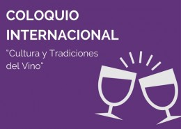 Coloquio internacional sobre la vid y el vino - Cátedra UNESCO