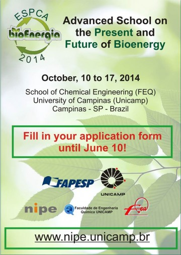 Advanced School on the Present and Future of Bioenergy""