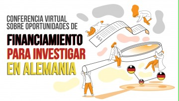 Conferencia virtual sobre financiamiento para investigar en Alemania