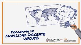 Convocatoria movilidad docente UNCUYO 2019-2020