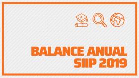 Balance anual SIIP 2019