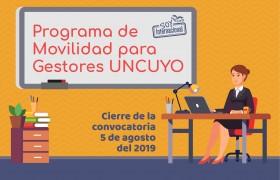 Convocatoria Programa de gestores UNCUYO