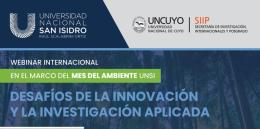 Webinar internacional: Desafíos de la innovación y la investigación aplicada