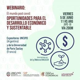 El mundo post covid: oportunidades para el desarrollo económico y sustentable