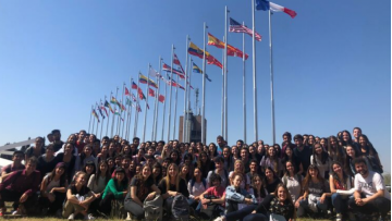 160 UNCUYO's students will carry out an academic Exchange in over 20 countries.