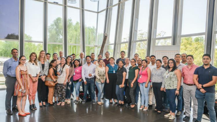 imagen que ilustra noticia An Ecuadorian Delegation starts a PhD. at the University