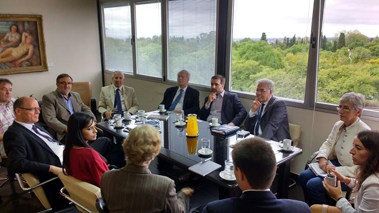Docentes Médicos de la Universidad de Friburgo en Alemania visitaron a la UNCuyo
