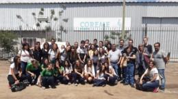 Brigadas ambientales estudiantiles visitaron COREME