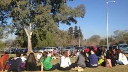 Participación de estudiantes en encuentro de educación ambiental