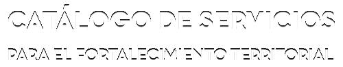 marca Catálogo de servicios