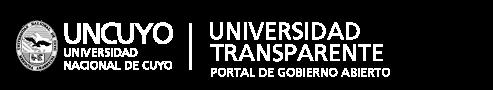 marca Universidad Transparente. Portal de Gobierno Abierto.