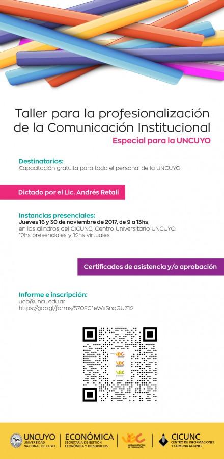taller para profesionalización