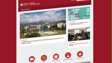 Prensa ya tiene su propio sitio en la UNCUYO